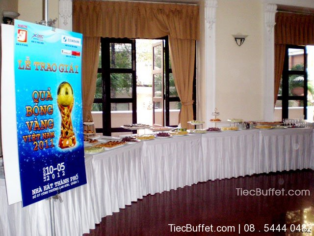 Tiec Buffet Tea Break